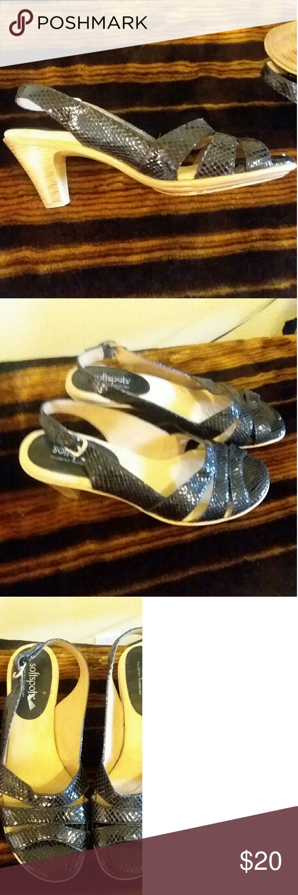 f24421bf4f Soft spot black flats Beautiful Black flats used but excellent condition. Softspots  Shoes Sandals