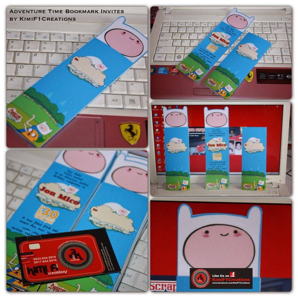 F1 Digital Scrapaholic Unique and Cute Invites by at