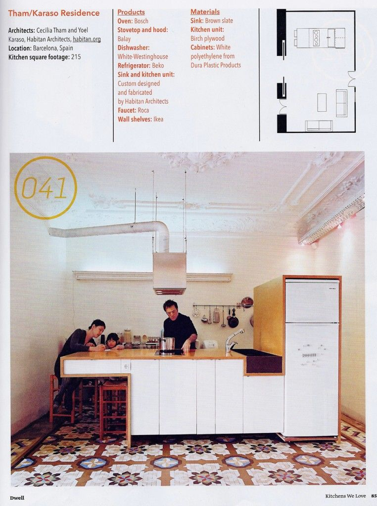 DWELL 100 KITCHENS | HABITAN ARQUITECTOS . HABITAN ARCHITECTS