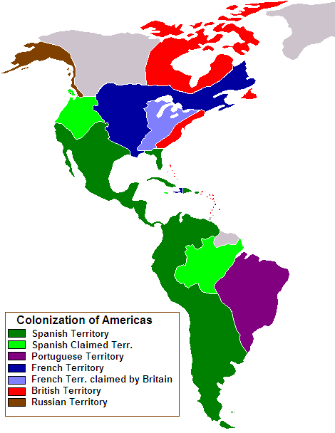 Colonial South America Map.Geography For Kids South America Flags Maps Industries Culture