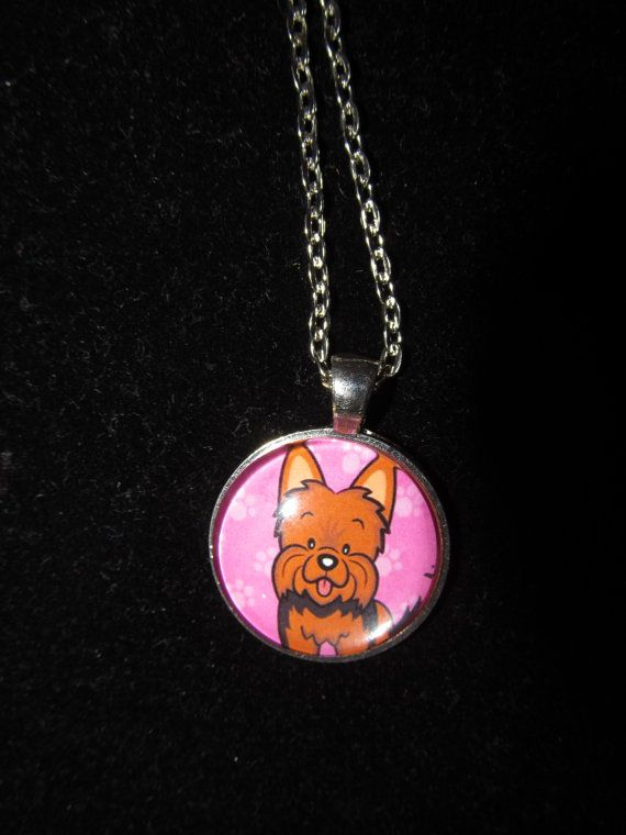 Dog yorkie pendant necklace or keychain by everythingsduckybout dog yorkie pendant necklace or keychain by everythingsduckybout 799 aloadofball Choice Image