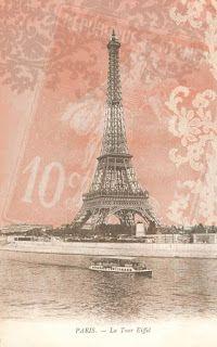 Arte Encanto por Vasti Fernandes: Imágenes París w / decoupage (II)