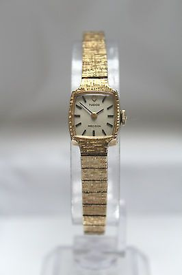 TUDOR by ROLEX- PRECISION- 18k Gold-Capped Vintage Winding Ladies Watch -SUPERB! https://t.co/jnQeRGSoFM https://t.co/9ydPX3fzAM