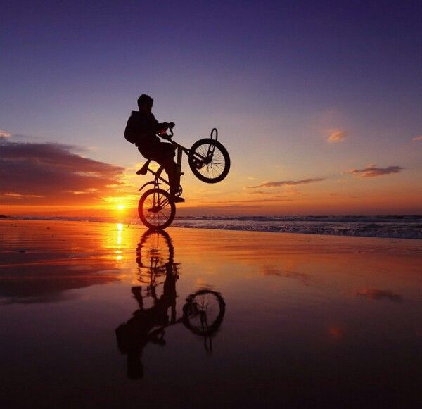 L M Adli Kullanicinin Sunrise Sunset River And Sea Panosundaki Pin Bisiklet Sincap