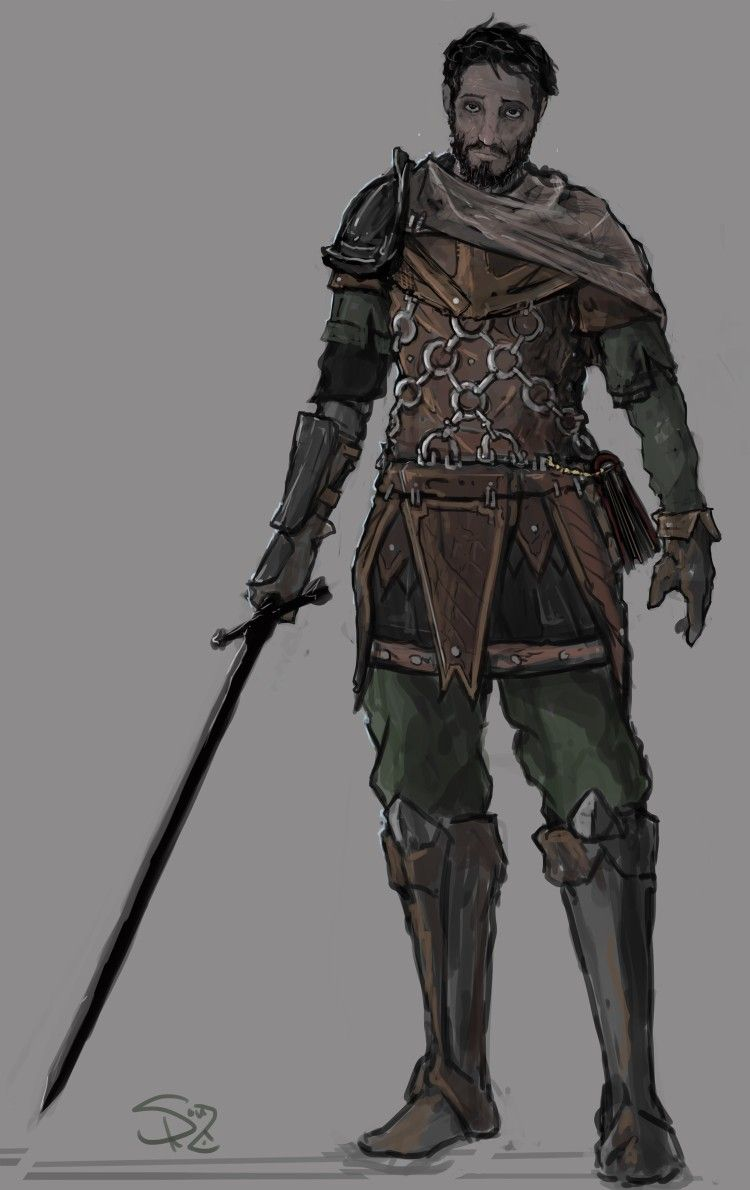 Broken Knight | Dragons and Dungeons | Fantasy character design, Fantasy characters, Character