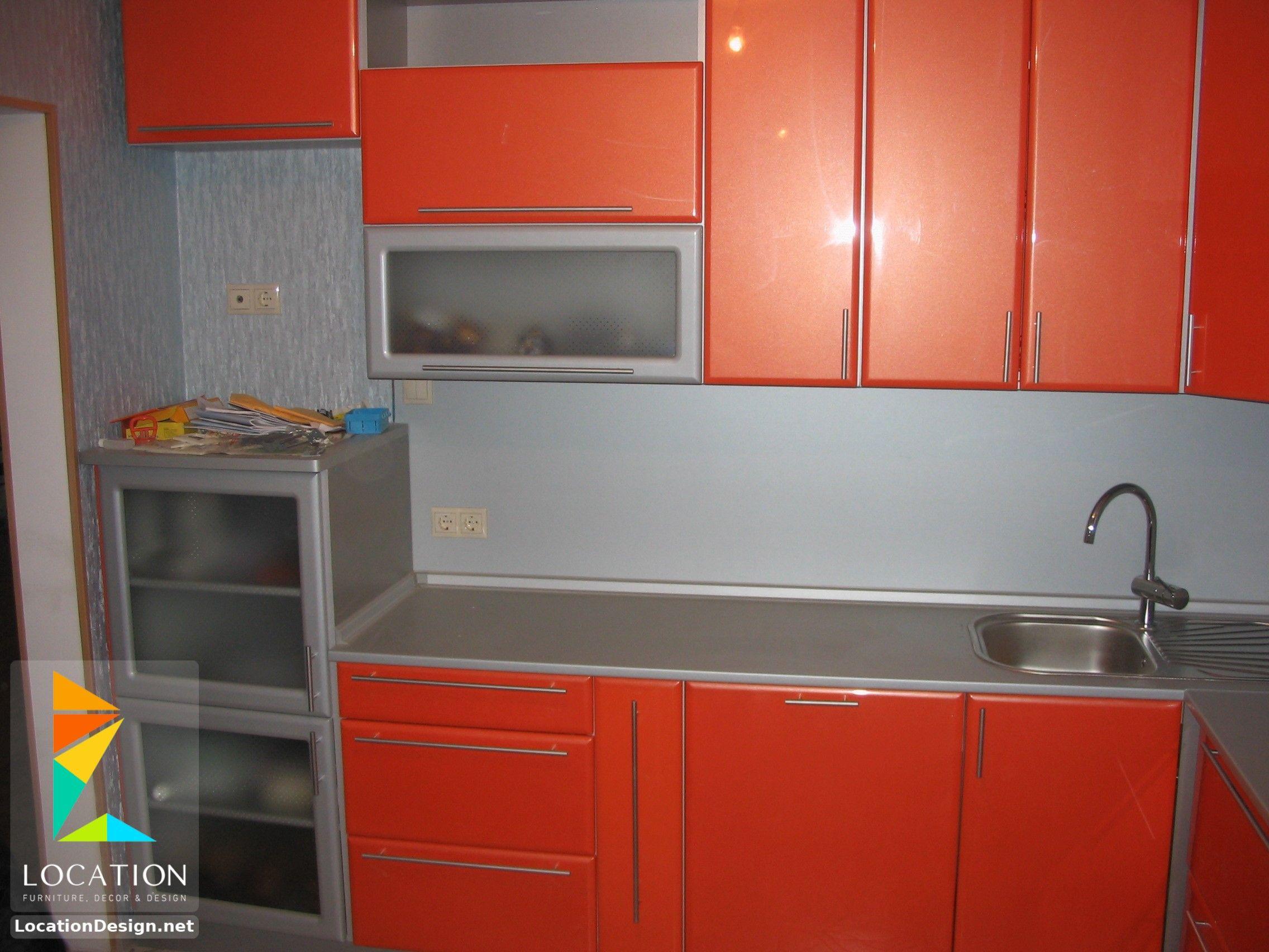 مطابخ المنيوم 2018 2019 ارقى تصميمات المطابخ الألمونيوم Kitchen Home Kitchen Cabinets
