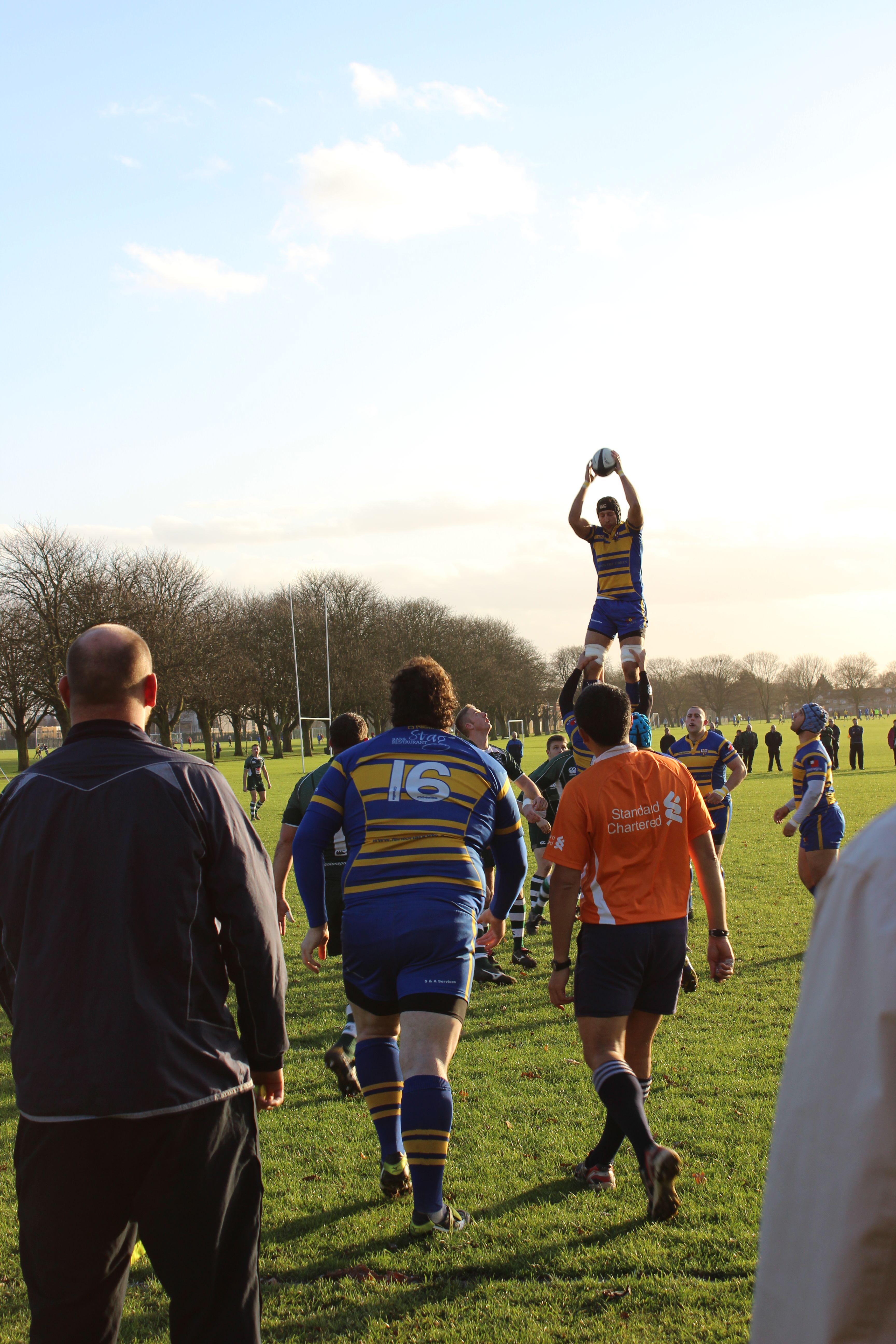 Rugby catch