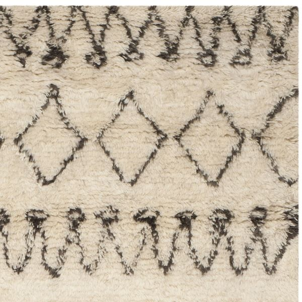 Safavieh Handmade Casablanca Shag Ardith Tribal Wool Rug Wool Shag Rug Square Area Rugs Shag Rug