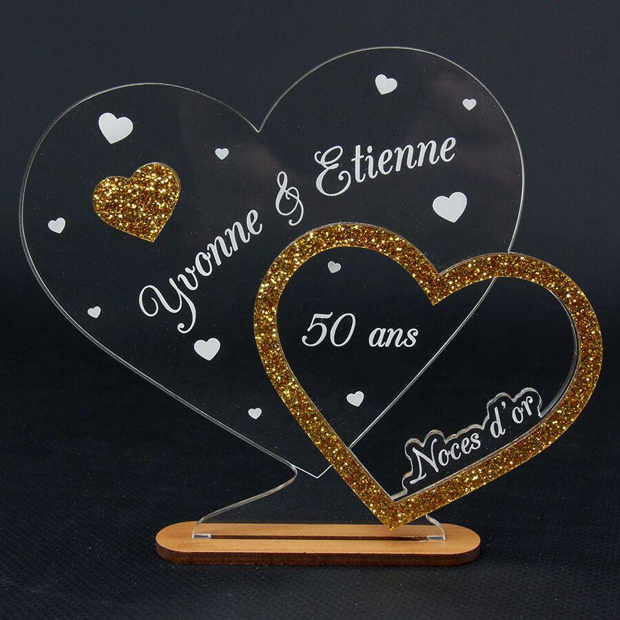 Cadeau 50 Ans De Mariage Noces D'or