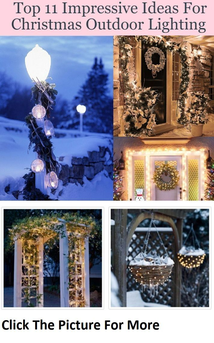 Top 11 Impressive Ideas For Christmas Outdoor Lighting