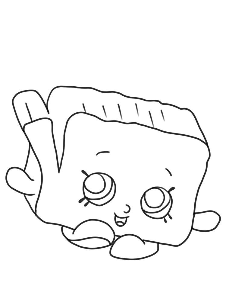 Shopkins Seasion 6 Betsy Butter Print. Shopkins Are Tiny Plastic  Collectible Toys Produced By A… Shopkins Colouring Pages, Shopkins  Colouring Book, Coloring Pages