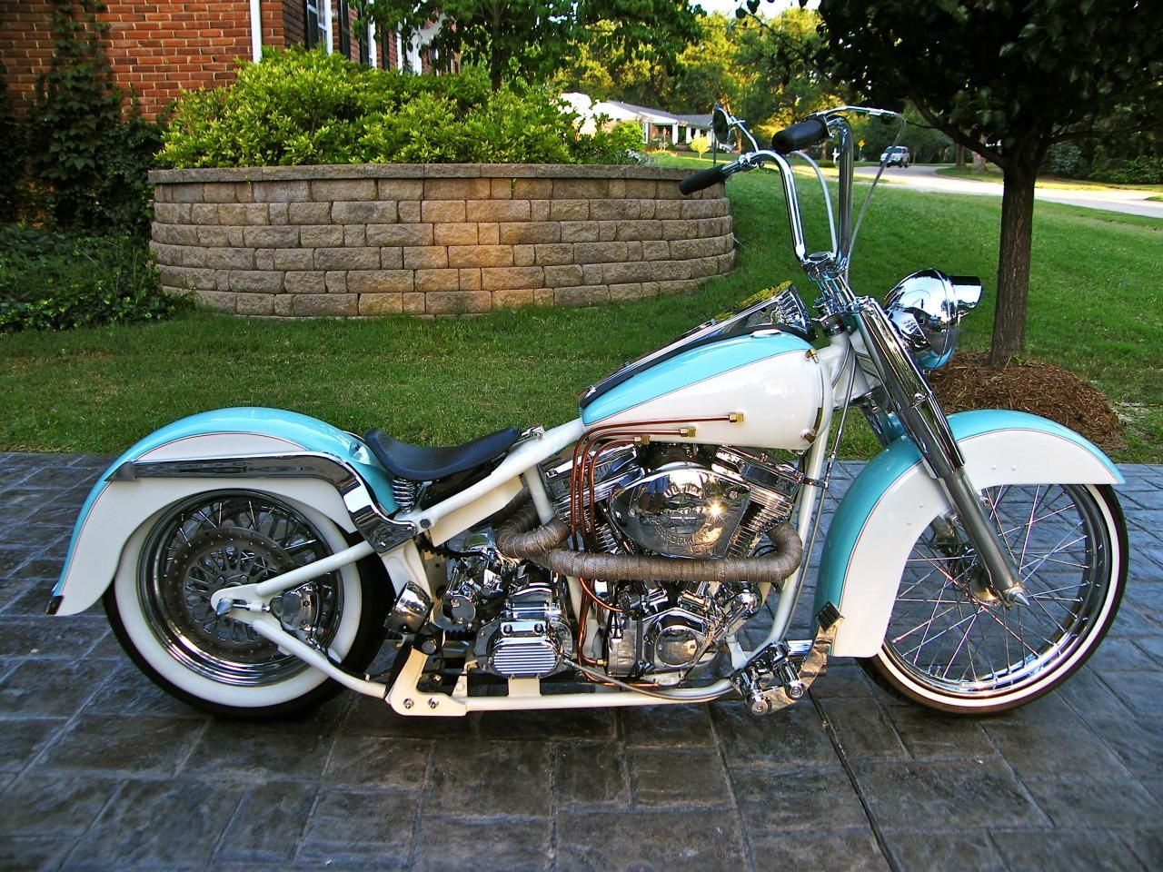 Rod S And Rides Built Malibu Cycle Works Custom Softail