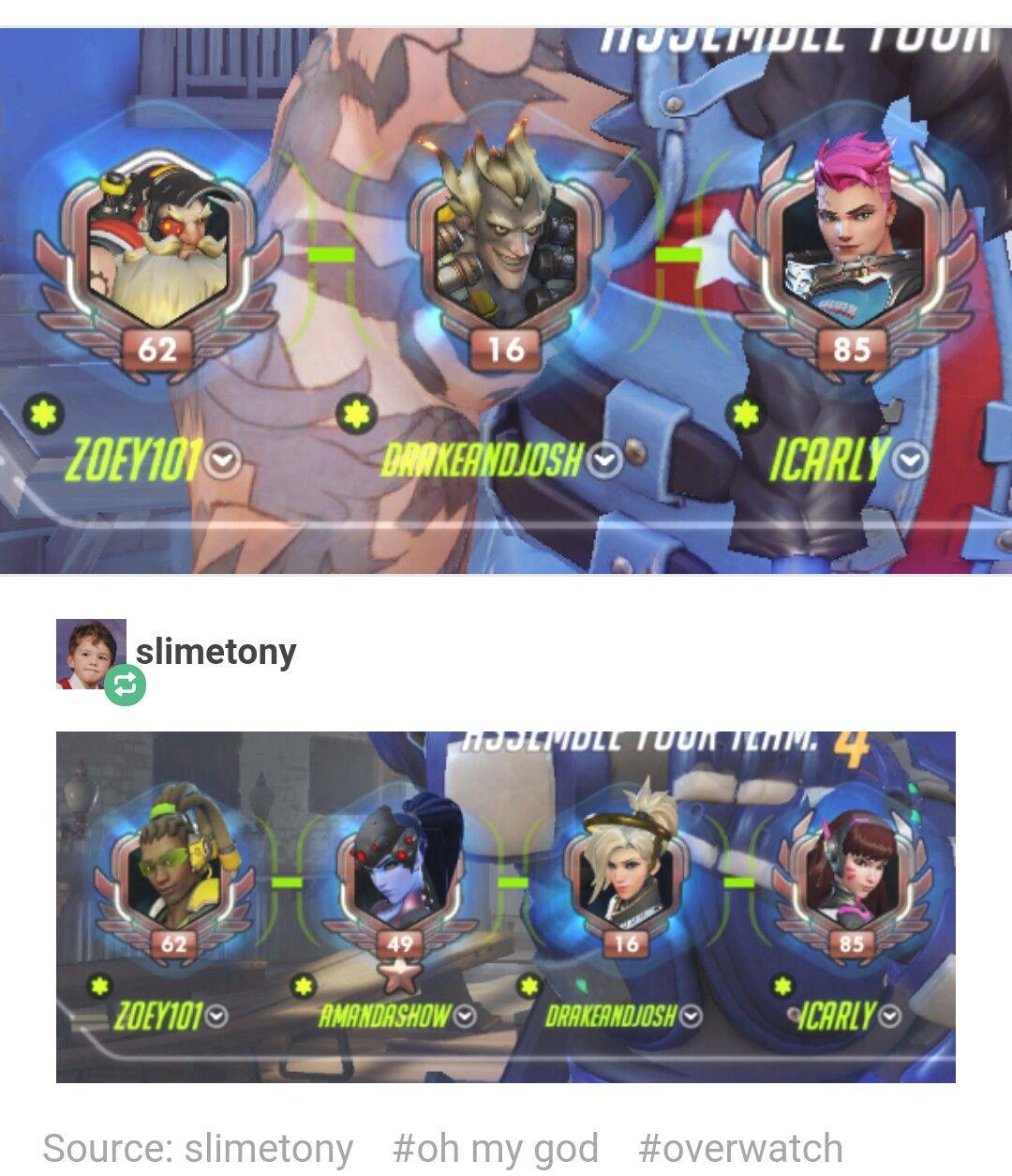 Dream Team Overwatch Funny Overwatch Comic Overwatch Memes