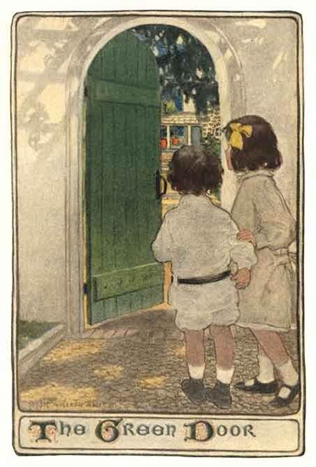 The Green Door by Jessie Wilcox Smith