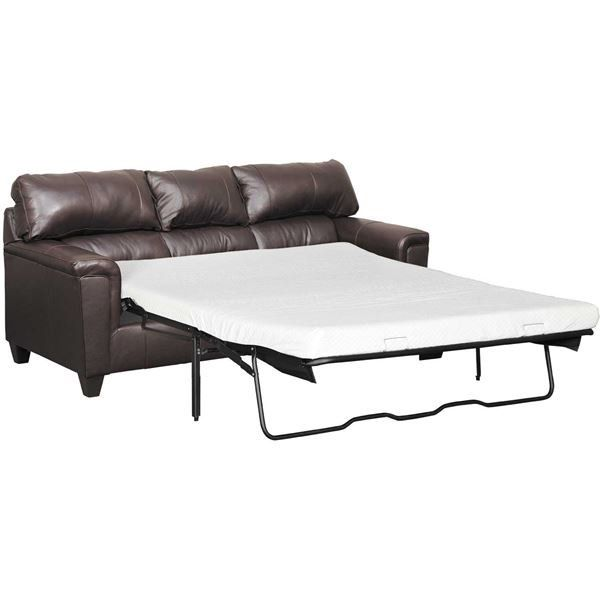 Graham Bark Leather Queen Sleeper In 2019 Furniture