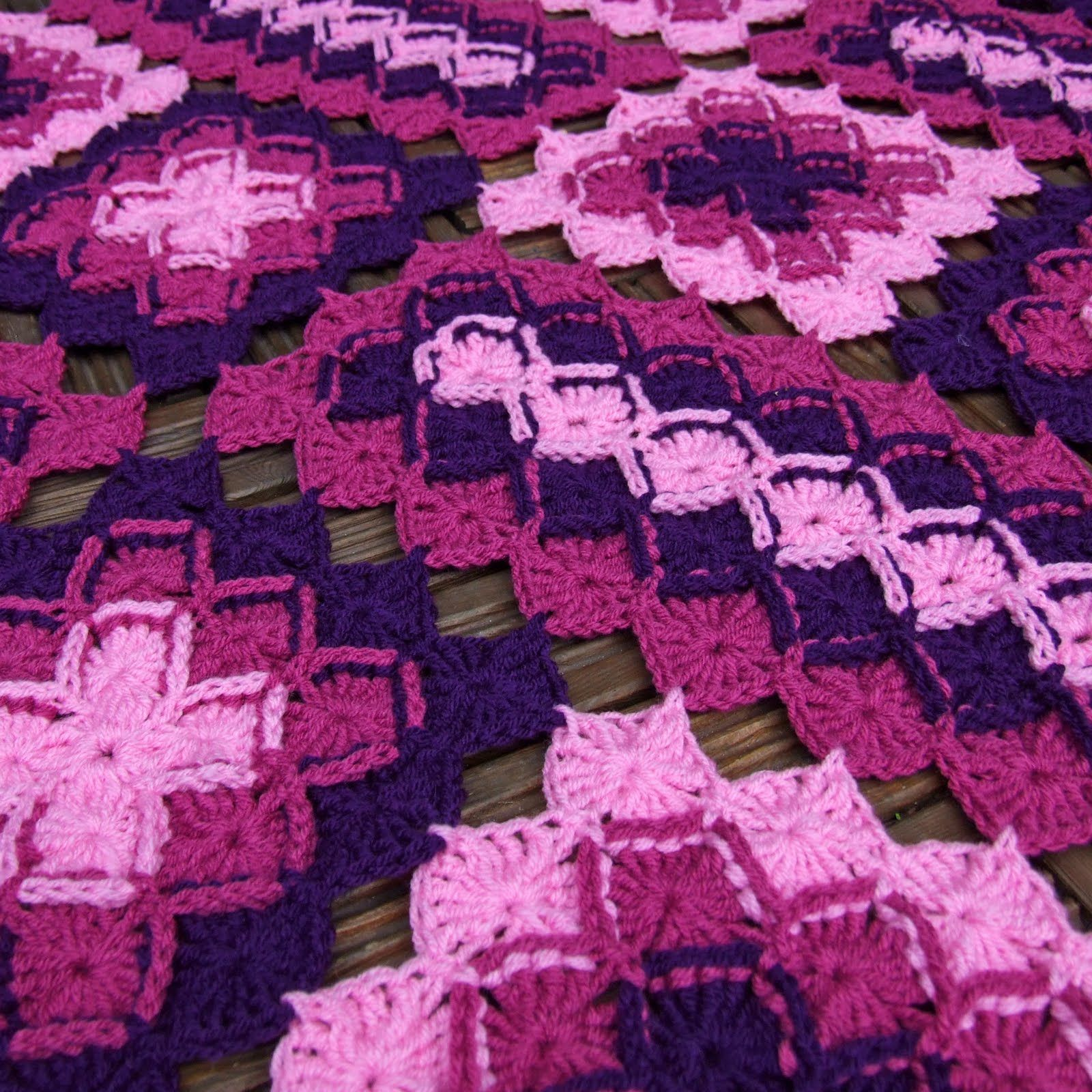 Bavarian Lap Blanket. WoolnHook by Leonie Morgan   Crochet Patterns ...