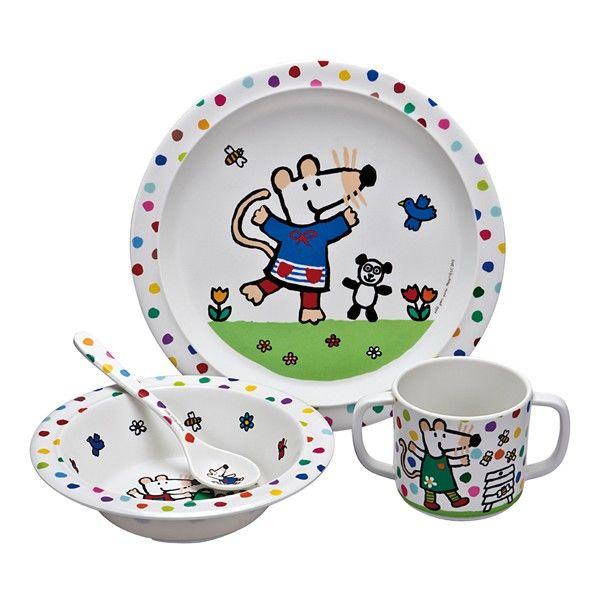 Childrens Toddlers Baby Dinnerware Dîner Petit déjeuner Ensembles repas déjeuner vaisselle