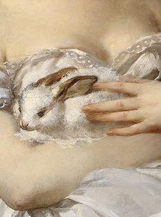 Armand Doré (1824-1882) - Der kleine Liebling (1860)