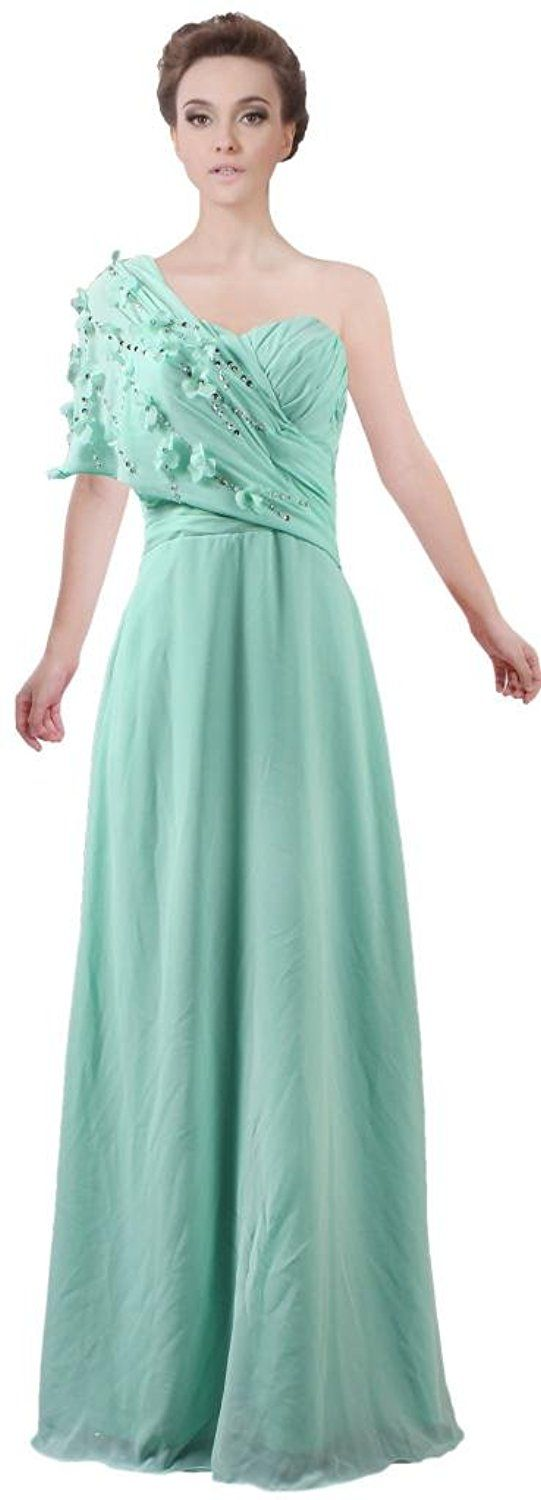 Ants womenus simple long bridesmaid dresses short sleeve prom gown