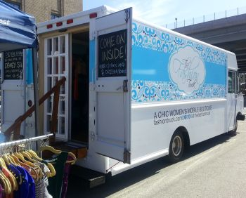 Mobile Fashion Boutiques | the fashion truck open for business at sowa sunday