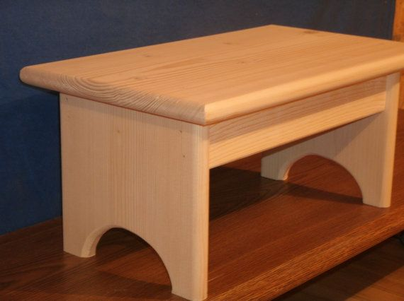 Wood Step Stool Wooden 7 By Beckyshelves
