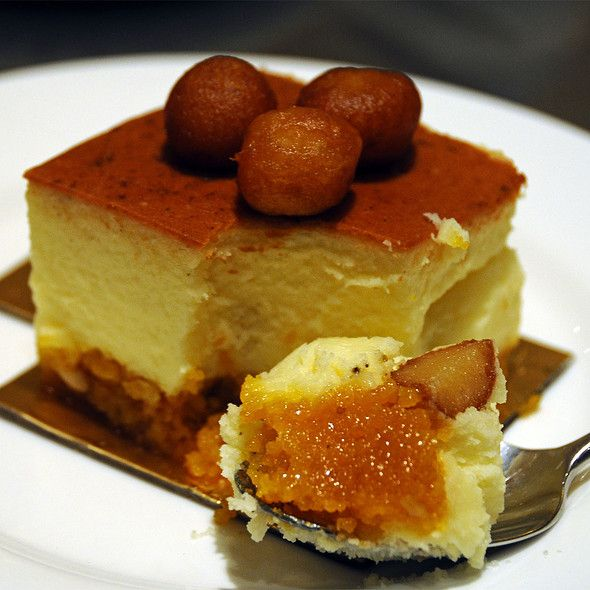 Gulab Jamu Cheesecake