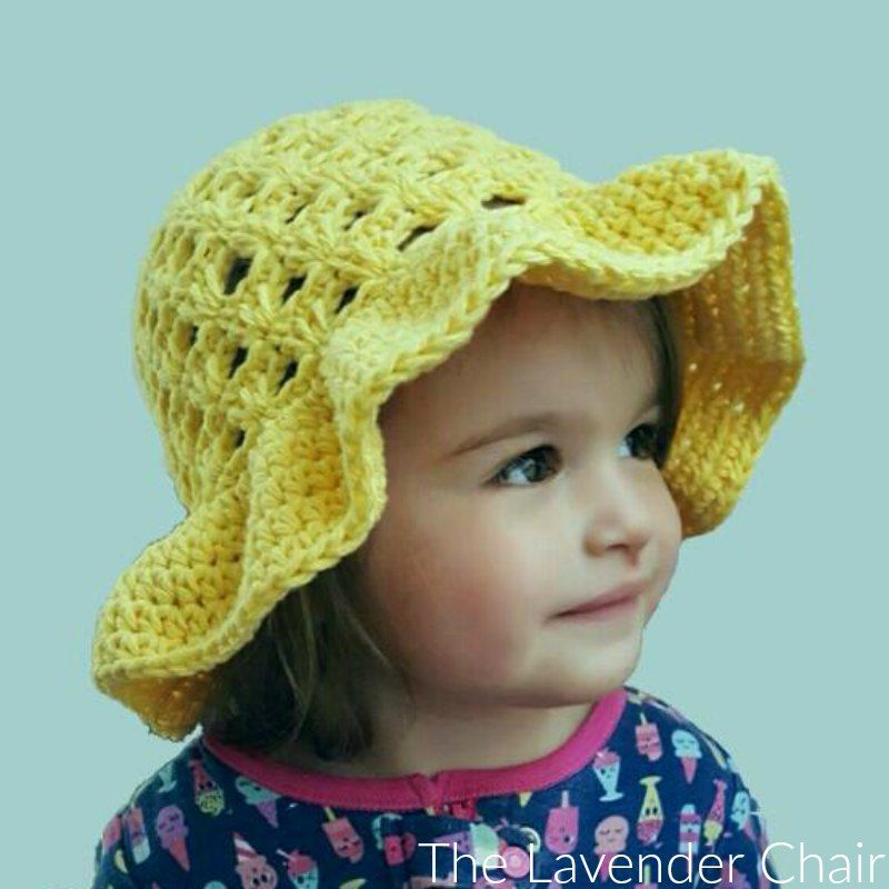 Earlier This Past Week I Released The Lazy Daisy Floppy Sun Hat
