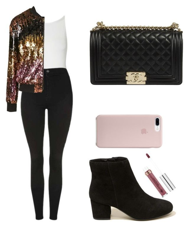 """Untitled #331"" by fweakydarcy on Polyvore featuring Topshop, Hollister Co. and Anastasia Beverly Hills"