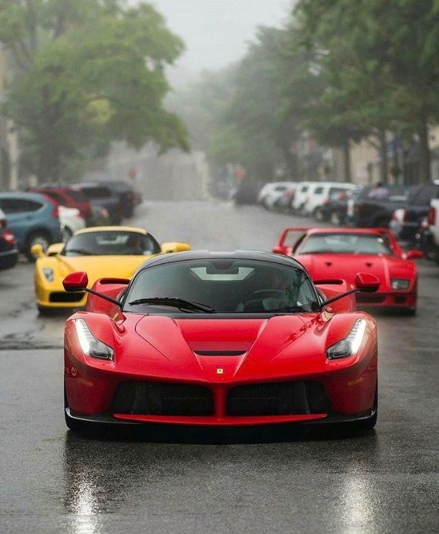 Leader Of The Pack. Ferrari LaferrariLa FerrariLamborghiniDream CarsBig ...