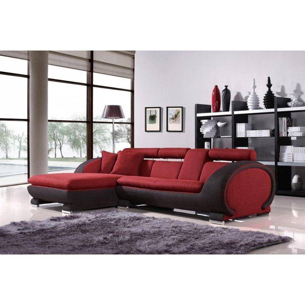 50 Cozy Ultra Modern Sofa Designs Ideas | Furniture | Black leather ...