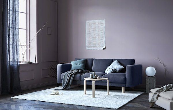 Color Trend 2017 18 10 Examples Of Violet Walls Via Eclectic Trends