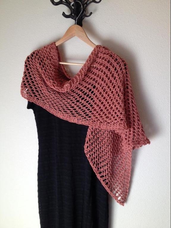 6 Name Knitting Lattice Stitch Shawl Loom Knit Pattern