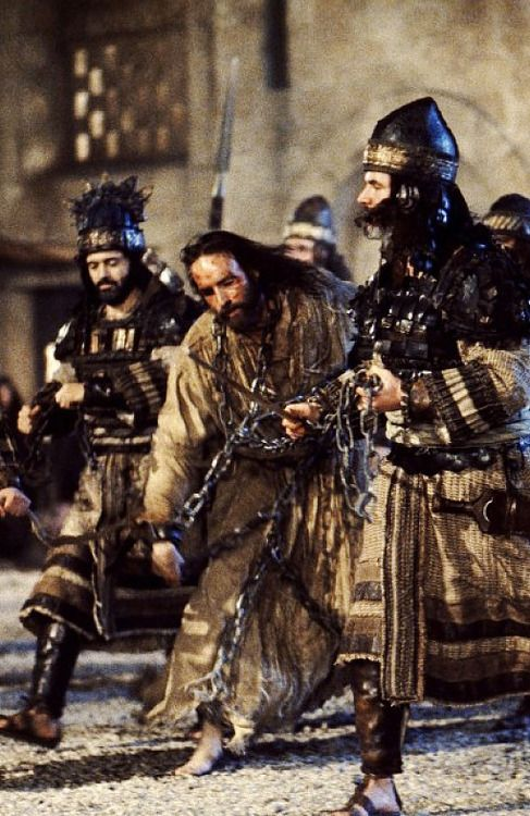 Jim Caviezel in The Passion of the Christ. Mocked, slapped ...