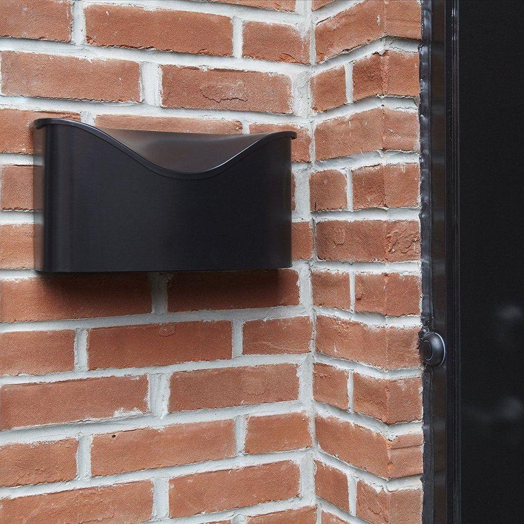 Umbra Postino Wall Mount Mailbox Stainless Steel 2 To 5 Day Free Delivery Wall Mount Mailbox Mounted Mailbox Wall Mounted Modern Mailbox Wall Mount Mailbox