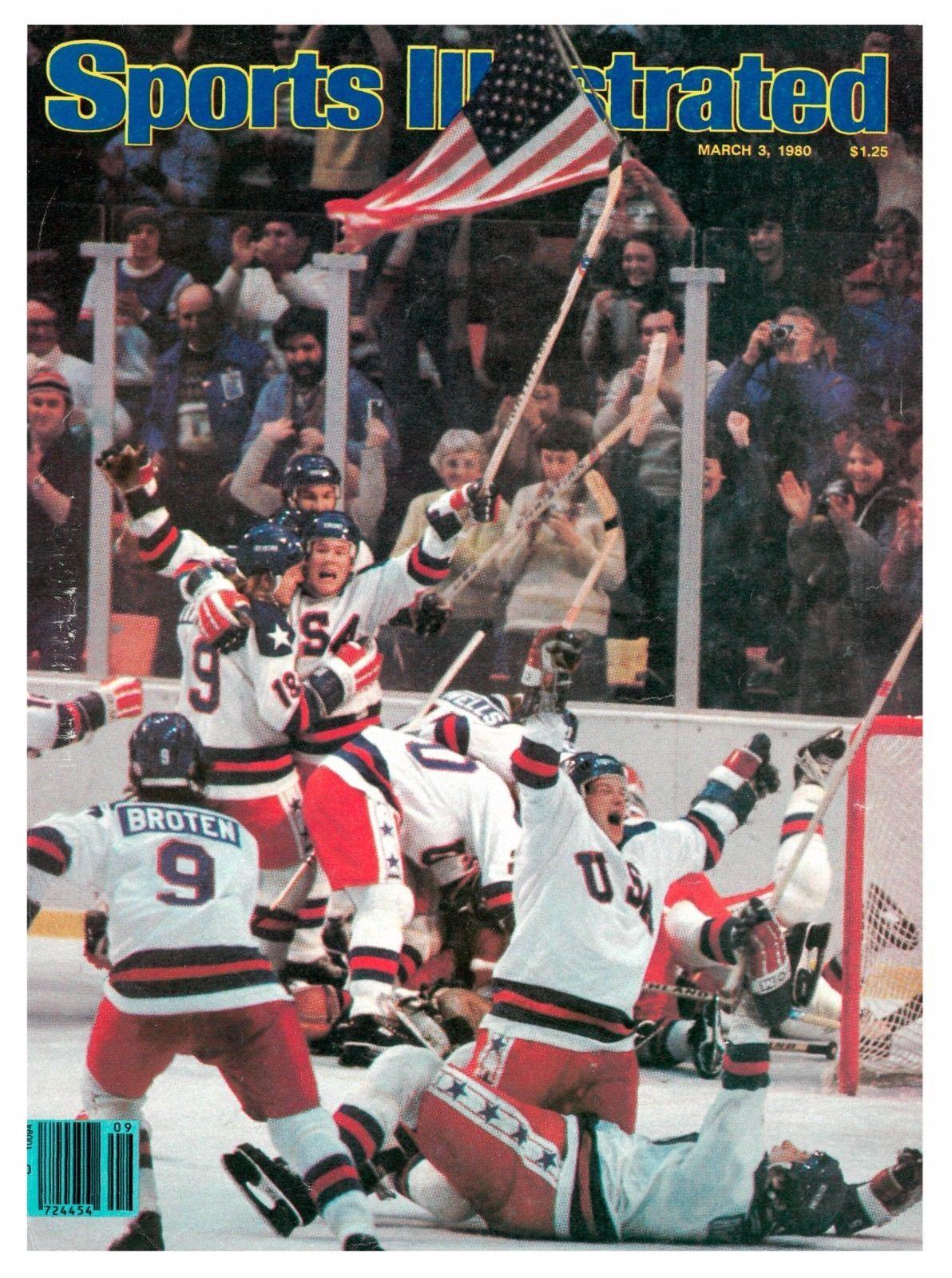 March 3 1980 Usa U S Olympic Hockey Team Sports Illustrated Olympic Hockey Sports Illustrated Hockey Teams