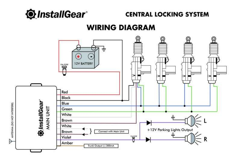 16 car center lock wiring diagram  car diagram  wiringg