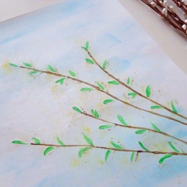 это картинки на тему весенняя веточка гвоздики