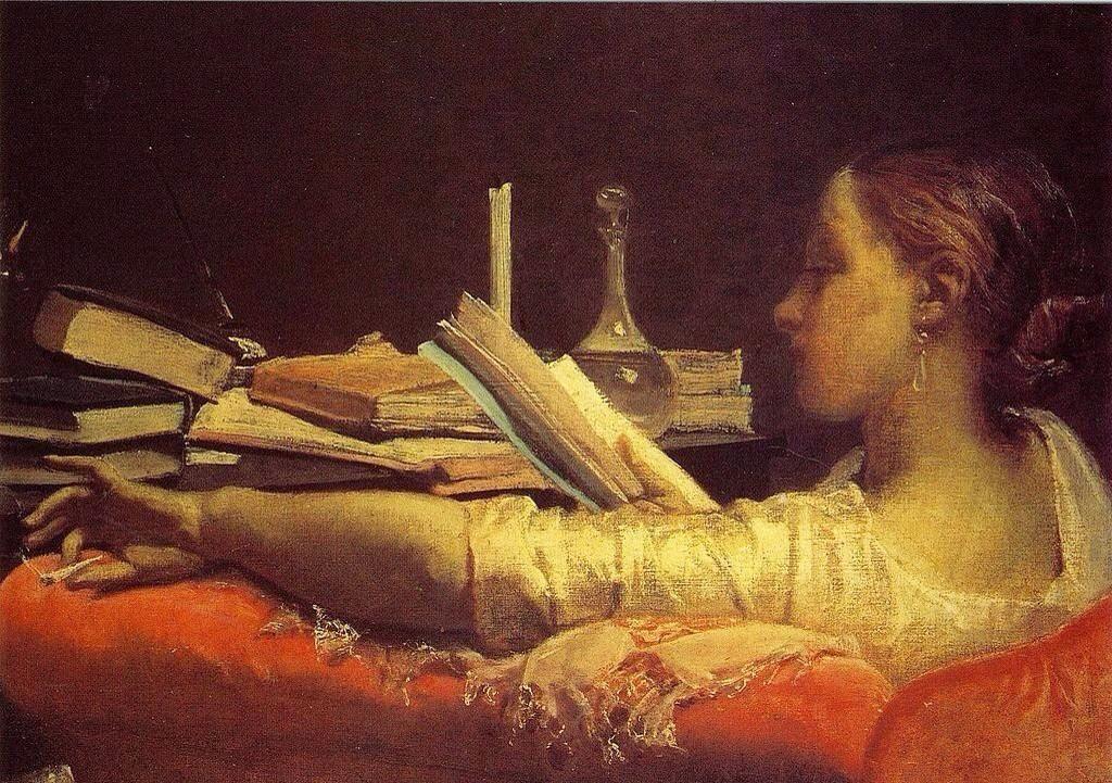F.Faruffini「La Lectora」