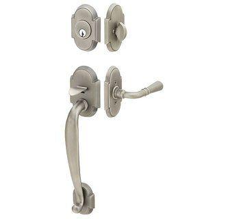 Emtek 4302 Pewter Handleset Emtek 4302 Nashville Dummy Classic Brass Handleset - Door Handles - Amazon.com