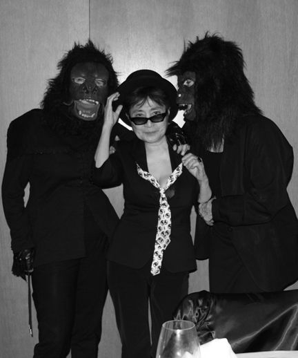 guerrilla girls and Yoko Ono