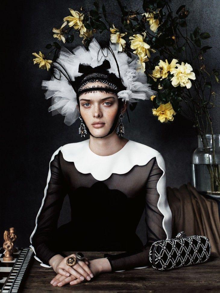 UK Vogue December 2013 by Josh Olins