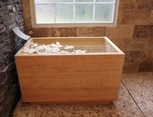 Hinoki Ofuro Tub - Your Bath Store