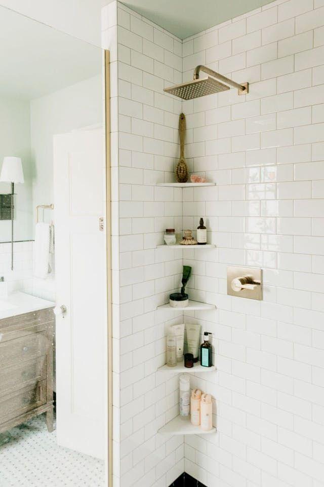 Small Bathroom Shelves Shower Storage