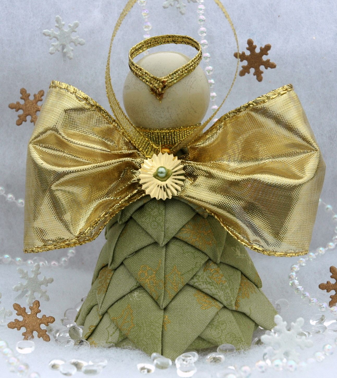 Angel Decorations To Make: Easy To Make Angel Ornaments