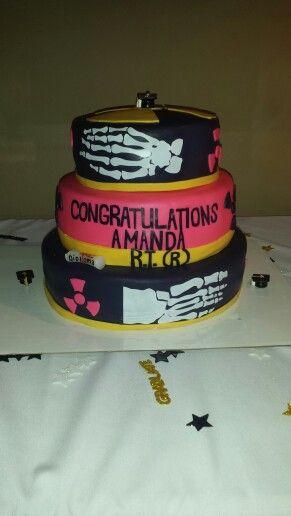 my xray graduation cake