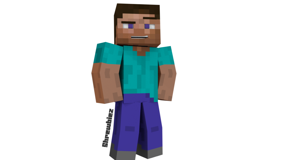 Steve From Minecraft By Shrewbiez On Deviantart Minecraft Steve Minecraft Steve