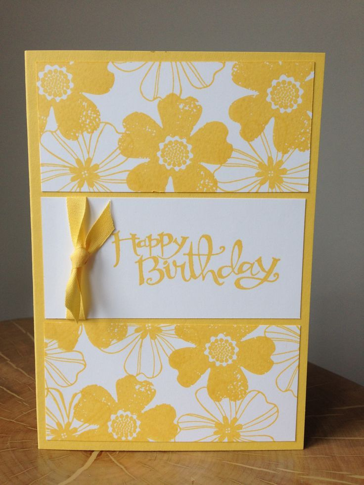 Easy Handmade Birthday Card Handmade Cards Pinterest