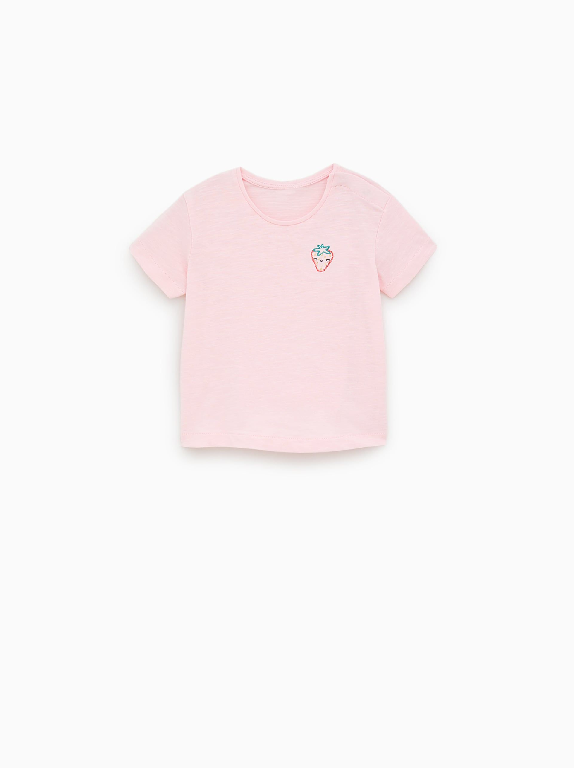 EMBROIDERED T - SHIRT-View All-T-SHIRTS-BABY GIRL  b88d3d72c3120