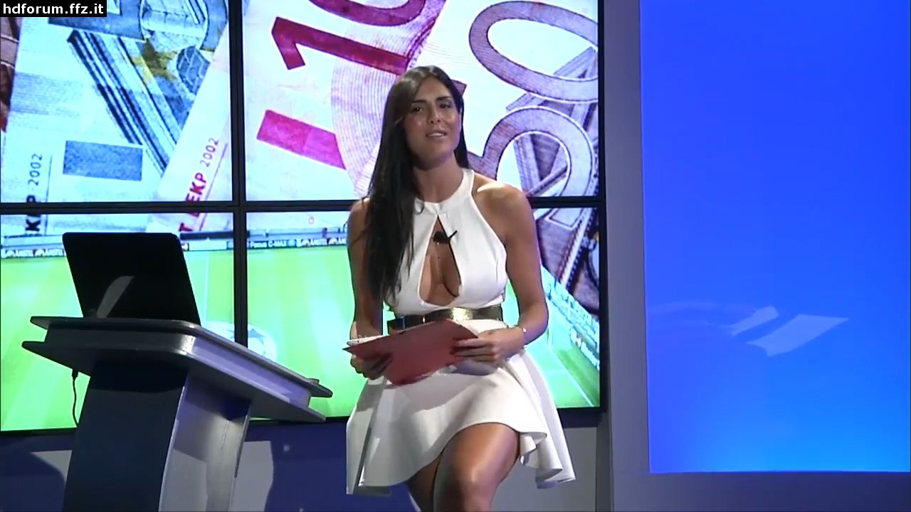Italian Football Female Presenters Hot Outfits Tv Presenters Female