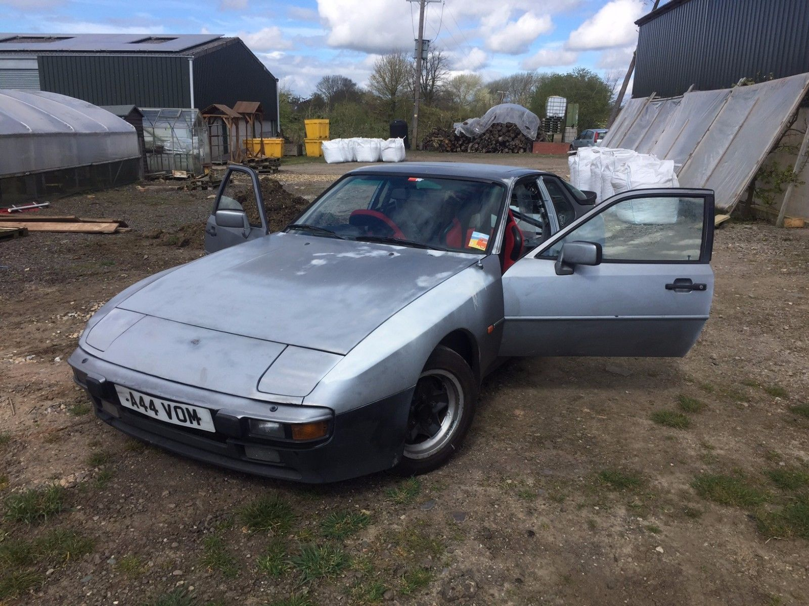 eBay: Porsche 944 Track Day Project For Sale (1983) Sensible offers ...